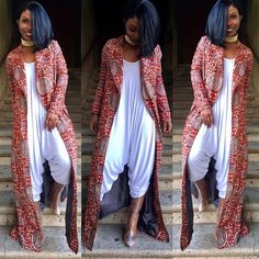 Ankara Styles Linda Omeni and Cory Harris From Midget-Giraffe - Reny styles