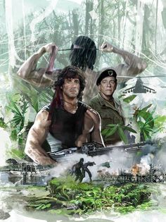 80s Movie Posters, Cinema Posters, Movie Poster Art, Rambo 3, Sylvester Stallone Rambo, Hollywood Action Movies, Silvester Stallone, Spiderman Movie, Movie Teaser