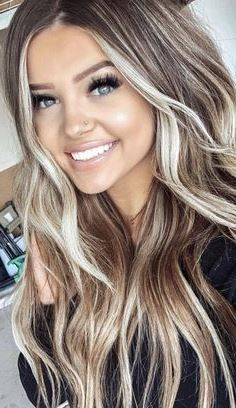 3 Dinge, die ich gerne gewusst hätte, bevor ich mich dem blonden Haar zugewandt habe 3 things I would have liked to know before turning to blond hair – Straight Hairstyles, Cool Hairstyles, Brown Hairstyles, Hairstyles Haircuts, Hairstyle Ideas, Party Hairstyles, Formal Hairstyles, Wedding Hairstyles, Long Layered Curly Hair