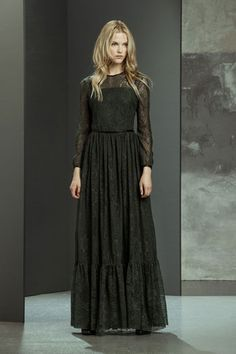 #imperialfashion #fw14 #longlacedress