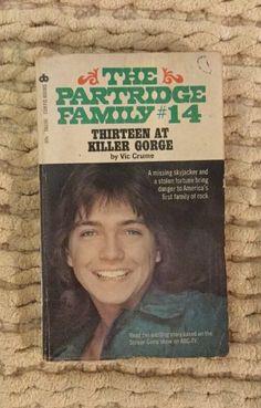 David Cassidy Partridge Family Paperback Books Vintage 70's 1973 DAVID CASSIDY  | eBay
