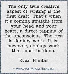 Donkey work.