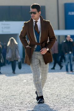 Men's winter street style inspiration. FOLLOW :... | MenStyle1- Men's Style Blog