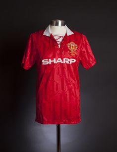 53997af7dff Manchester United 1994 FA Cup Final shirt