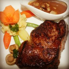 A hearty and meaty meal for the day - Don Vito Restaurant, Boracay Island, Philippines