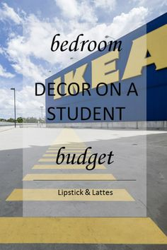 Bedroom on a Budget by Lipstick & Lattes [[MORE]]. In the past, I've decorated and redecorated my room hundreds of times to suit my. My Room, Latte, Budgeting, The Past, Bedroom Decor, University, Lipstick, Student, Lipsticks