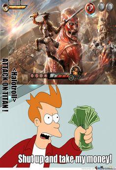 Attack On Titan Funny Meme | Attack On Titan 37