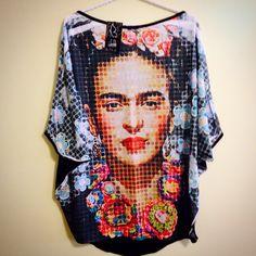Casulo Frida Kahlo Fran Farfalle