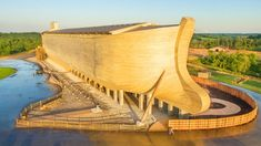 Architecture - Ark Encounter by LeRoy Troyer in Cincinnati OH USA The Ark Encounter, Creation Museum, Architecture Design, Amazing Architecture, Contemporary Architecture, Triomphe, Road Trip Usa, Plan Your Trip, Cladding