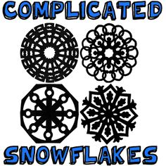 1st picture complicated snowflakes step How to Make Paper Snowflakes   Many Snowflake Patterns