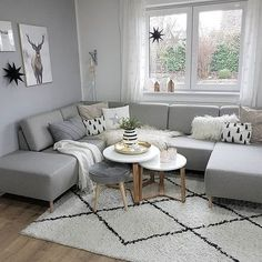 59 comfortable decoration ideas of the Scandinavian living room 29 . 59 comfortable decorating ideas for the Scandinavian living room 29 # Interior Design Living Room Warm, Living Room Modern, Home And Living, Living Room Designs, Living Room Colors, Living Room Decor, Scandinavian Living, Scandinavian Design, Living Room Inspiration