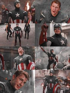 Captain America-Avengers screen captures