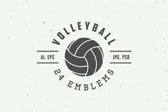 Volleyball Team Shirts, Volleyball Shirt Designs, Volleyball Locker Signs, Volleyball Tattoos, Badge Design, Logo Design, Beach Volley, Logos Ideas, Soccer Logo