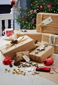 Fabulous Gift Wrapping Ideas #Christmas #GiftWrap