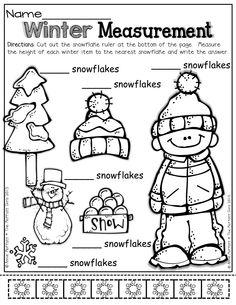Snowflake/Winter Measurement Activity