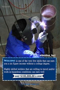 Cool Welding Facts with Image – Fact #2: Welding Job Salary