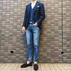 Mens Fashion Suits, Casual Fall, Jacket Dress, Urban Fashion, Style Guides, Autumn Winter Fashion, Street Wear, Menswear, Jeans
