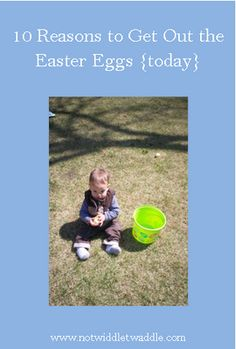 10 reasons to get out the Easter Eggs today. http://www.letit.info/archives/26.html
