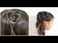 ▶ 2 penteados de coração - YouTube