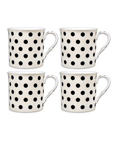 Black & Cream Mug Set