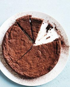 Fudgy Brownie Cake Recipe