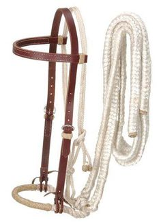 Royal King Loping Hackamore with Reins | ChickSaddlery.com