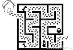 dog maze - Google Search