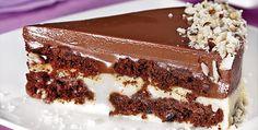 Torta com creme de leite e Nutella