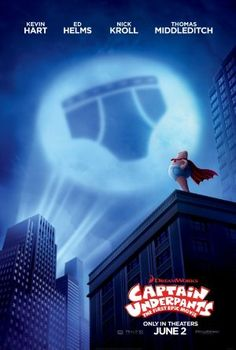 Century Fox has released three new clips from their forthcoming Captain Underpants: The First Epic Movie! Captain Underpants: The First Epic Movie featu Latest Movies, New Movies, Movies To Watch, Good Movies, 2017 Movies, Imdb Movies, Family Movies, Film Download, Full Movies Download