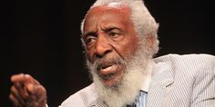 #Dick Gregory, comedian, actor, and civil rights activist, was born Richard Claxton Gregory in 1932 in St. Louis, Missouri.  Gregory's father left the family when Gregory was a child forcing his mother, Lucille, a maid, to raise him and his five siblings.  During his high school years Gregory j