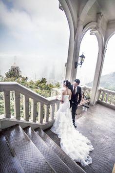 Hong Kong Wedding Photography Engagement Natural Spring Asian Bride Bridal Make Up Hair Do Bluelacestudio