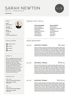lebenslauf vorlage und anschreiben vorlage von theresumeboutique - Sarah Connor Lebenslauf