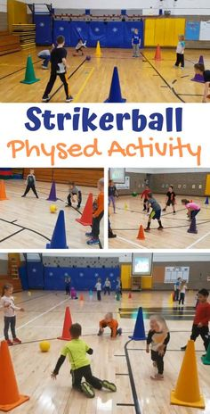 Strikerball Activity for Physical Education PE Teacher Kalie Schult shares her activity called Strikerball, a continuous game that works on many aspects including moving, striking, reaction time, and strategic play. Physical Education Activities, Elementary Physical Education, Pe Activities, Educational Activities, Texas Education, Education Quotes, Special Education, Physical Science, Movement Activities