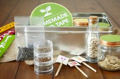 Make a Seed Storing Kit..Whether you have leftover seeds, or you're not ready to plant right away, storing them properly is important to ensure germination happens when planted later. Save seeds for years to come with our simple-to-make seed storing kit.