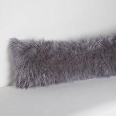 Faux Mongolian Body Pillow Cover