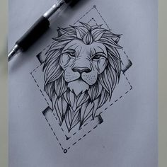 Best 25 Lion drawing ideas only on Pinterest