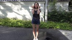 Someone finally posted the Kusumi Koharu ice bucket challenge video.  Please watch it before it gets pulled.  久住小春
