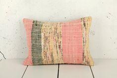 hand woven vintage kilim  rag rug pillow cover  1220 x by YASTK, $50.00