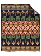 Mission Mill Blanket...a tribute to one of the original mills established by Pendleton founder Thomas L. Kay. The Victorian colors and design give a nod to the English heritage of the founder...