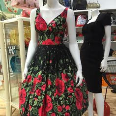 """This dress is STUNNING!!!! Elizabeth Dress in Empress Print by Retrospec'd Made in Australia Sizes 6 to 18 $209 Contact us through Facebook private…"""