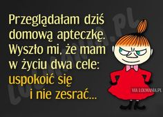 Przeglądałam dziś domową apteczkę… Weekend Humor, Funny Thoughts, More Than Words, Man Humor, Sentences, Positive Quotes, Funny Quotes, Funny Pictures, Jokes