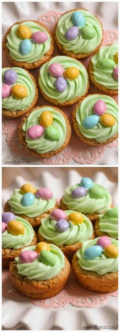Easter Basket Cookie Cups - Recipeez Blog