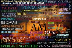 "God is ""the I AM"""