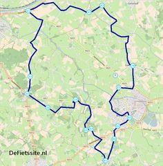 Fietsroute Geesteren-Borculo-Barchem