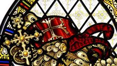 st. george with dragon stained glass - Google Search