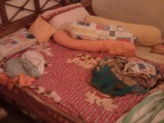The bed is too big for one person :P