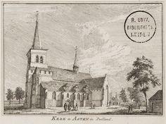Kerk te Asten in Peelland....18e eeuw