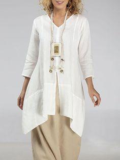 Plus Size Blouses, Plus Size Dresses, Types Of Sleeves, Dresses With Sleeves, Tunic Dresses, Sleeve Dresses, Casual Dresses, Side Slit Shirt, Fancy Dress Design