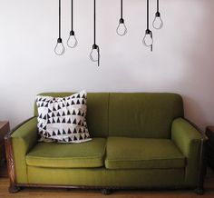 Vintage Light Bulb Wall Decals