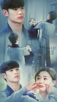 自来星星的你 (The man from the stars) - my favorite Korean drama ever!!!!